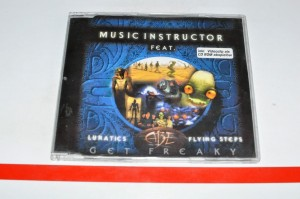 Music Instructor Feat. Lunatics, Abe, Flying Steps – Get Freaky Maxi CD Używ.
