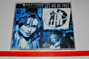 2 Brothers On The 4th Floor Feat. Des'Ray And D-Rock- Let Me Be Free Maxi-CD Używ.