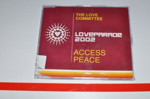 Love Committee, The – Access Peace (Loveparade 2002) MAXI-CD Używ. Love Parade