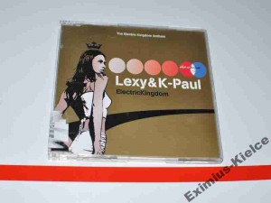 Lexy & K-Paul ‎– Electric Kingdom MAXI-CD Używ.