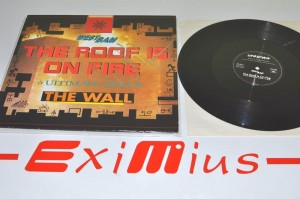 "WestBam – The Roof Is On Fire / The Wall (Ultimate Mixes) ( AUTOGRAF - WestBam ) 12"" Używ."