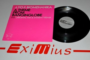 "Yoji Biomehanika – A Theme From Banginglobe 12"" LP Używ."