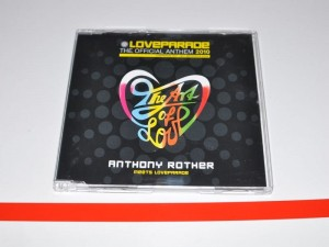 Loveparade 2010 Anthony Rother – The Art Of Love Maxi-CD Używ. Love Parade
