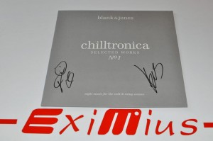 "Blank & Jones – Chilltronica - Selected Works 1 12"" LP AUTOGRAF Nowa"