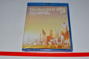 Decibel 2011 The Live Registration Blu Ray DVD Nowa