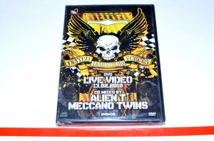 Alien T, Meccano Twins – United Hardcore Forces DVD Nowa