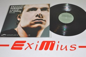 "Armin van Buuren – A State Of Trance 2006 Sampler 2 (In The Club) ( Autograf -  Stoneface & Terminal  ) 12"" Używ."