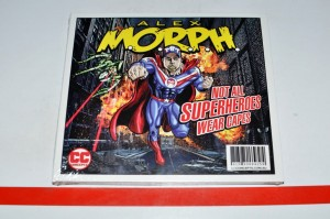 Alex M.O.R.P.H. ‎– Not All Superheroes Wear Capes CD Album Nowa