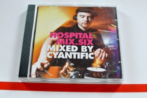 Cyantific - Hospital Mix.Six CD Używ.