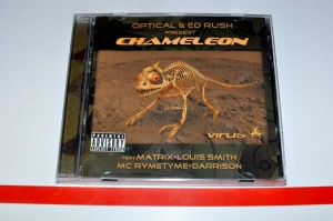Optical & Ed Rush - Chameleon CD ALBUM Używ.