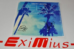 "Blank & Jones – Relax (The Sunset Sessions) 12"" LP AUTOGRAF Nowa"