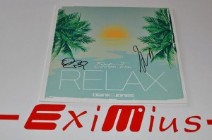 "Blank & Jones – Relax Vol. 10 12"" LP AUTOGRAF Nowa"